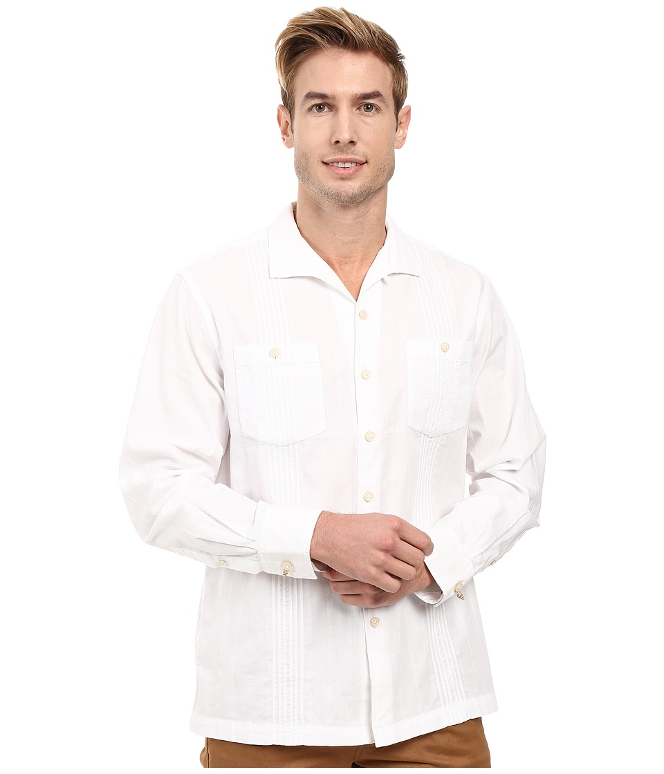 Tommy Bahama - Viva Las Palmas Shirt (White) Men's Clothing