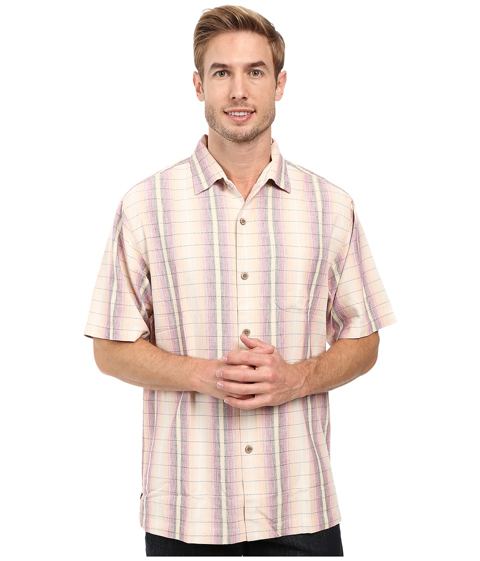 Tommy Bahama - Ombre Garcia Shirt (Rum Berry) Men's Clothing