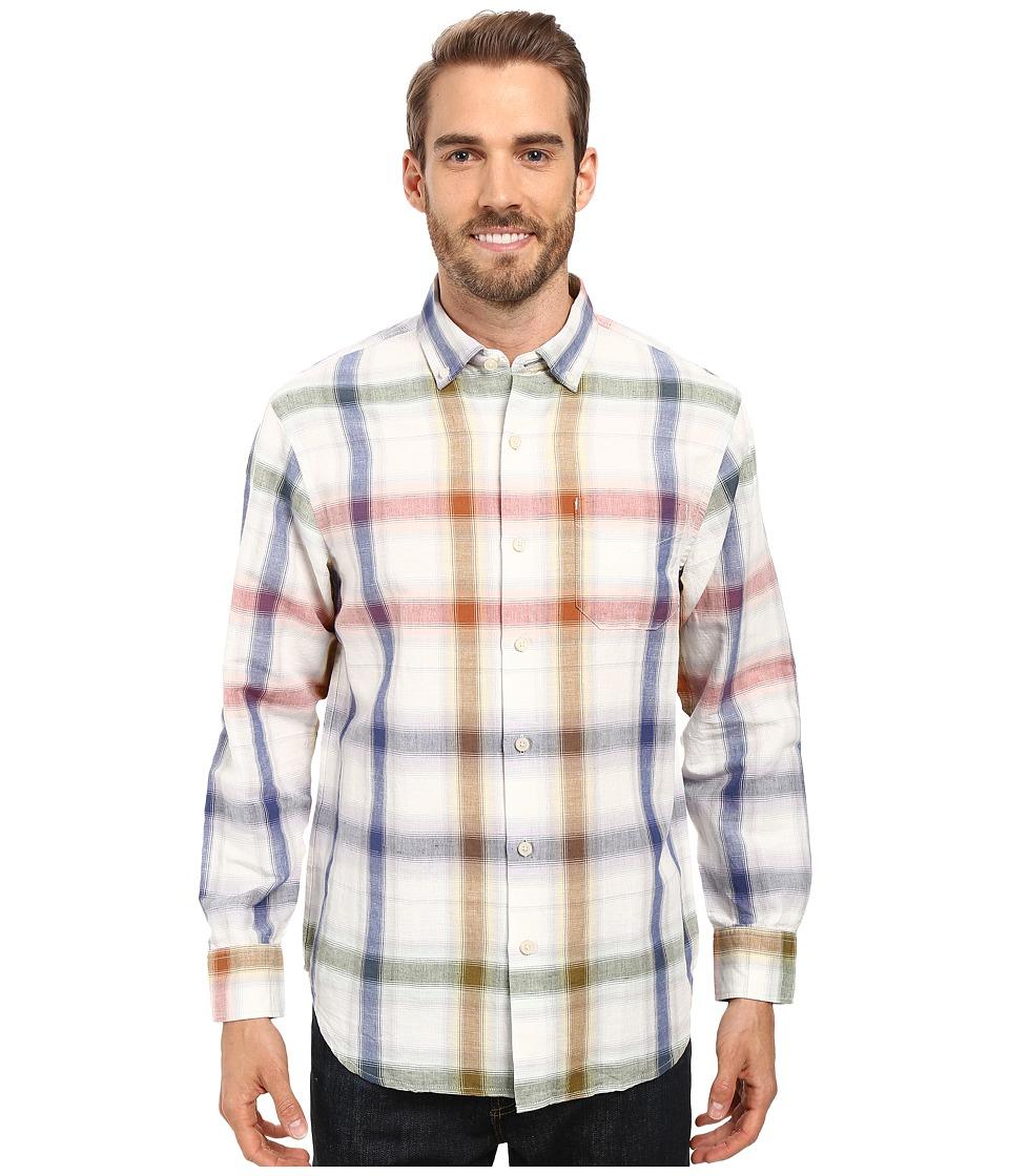 Tommy Bahama - Chaveta Check Shirt (White) Men's Clothing