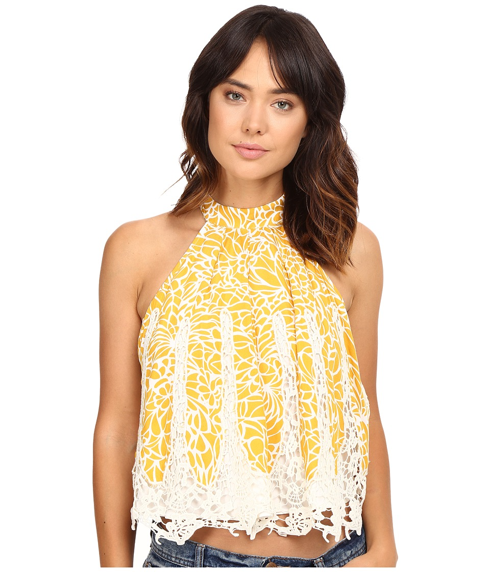 Lovers + Friends - Botanic Top (Mosaic Print) Women's Sleeveless