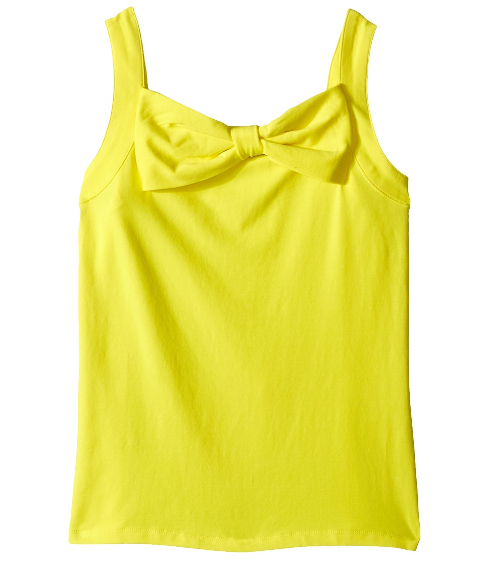 Kate Spade New York Kids - Bow Tank Top (Big Kids) (Lemon Yellow) Girl's Sleeveless
