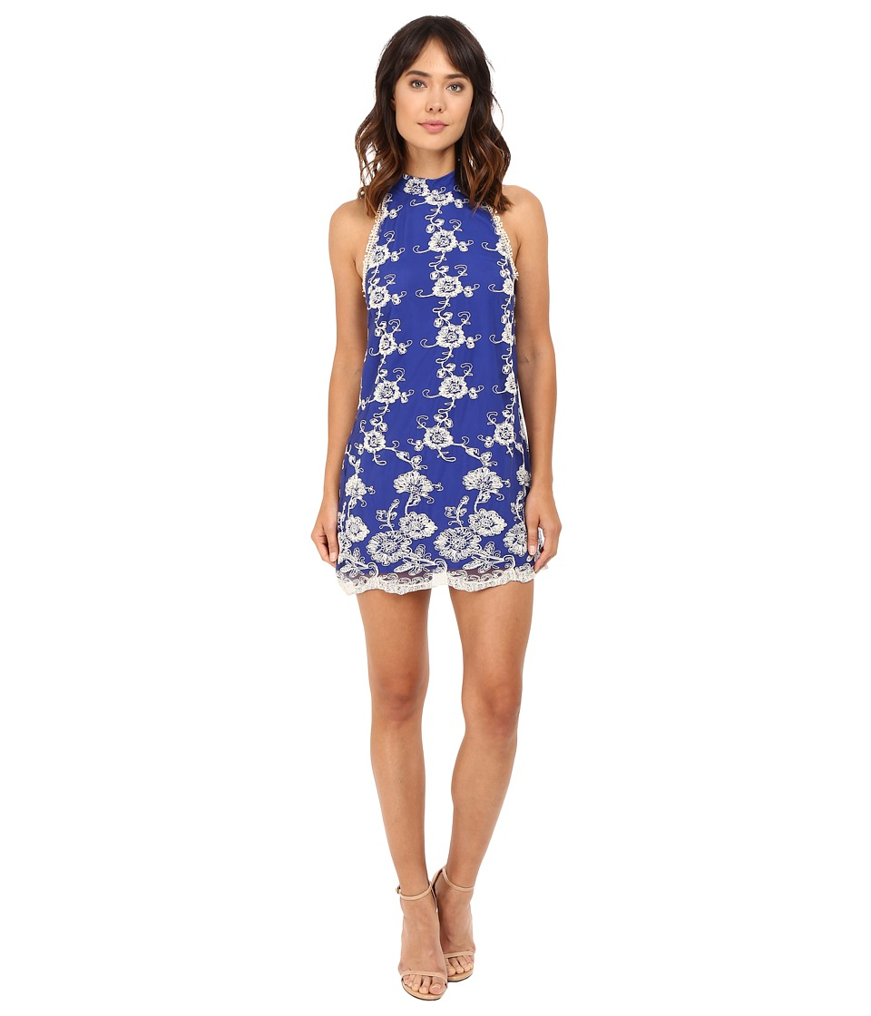 Lovers + Friends - Moonlit Dress (Marine Blue) Women's Dress