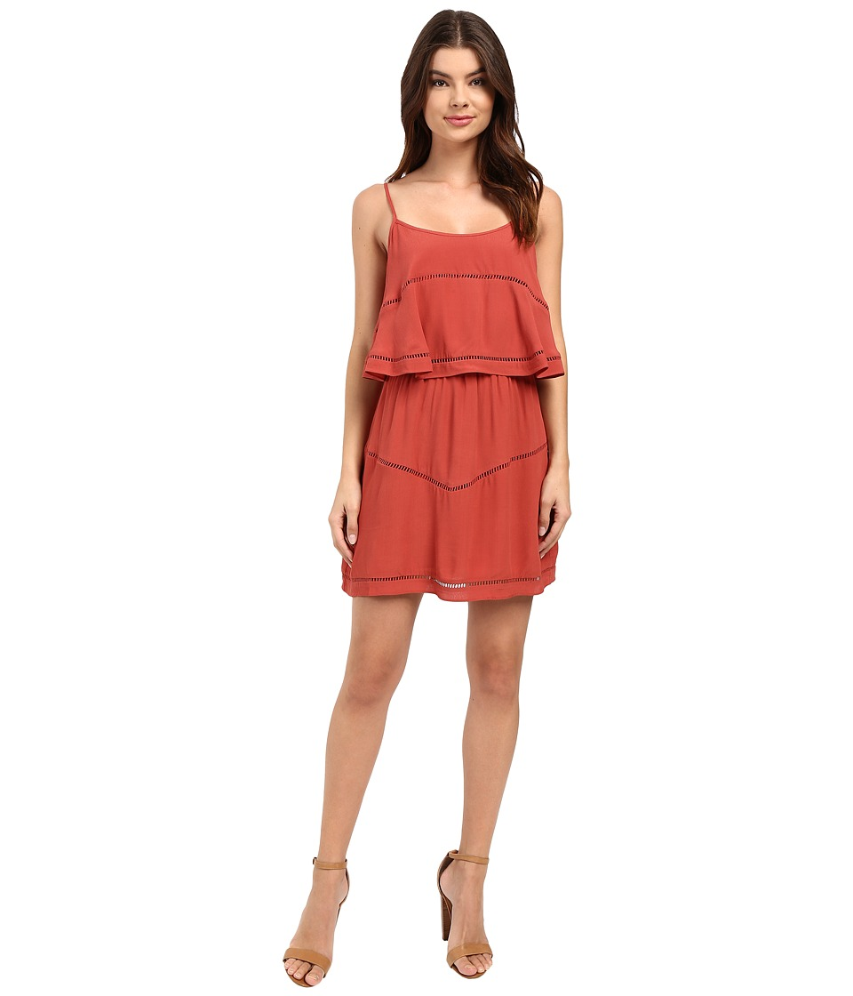 Lovers + Friends - Paradise Bay Dress (Rust) Women's Dress