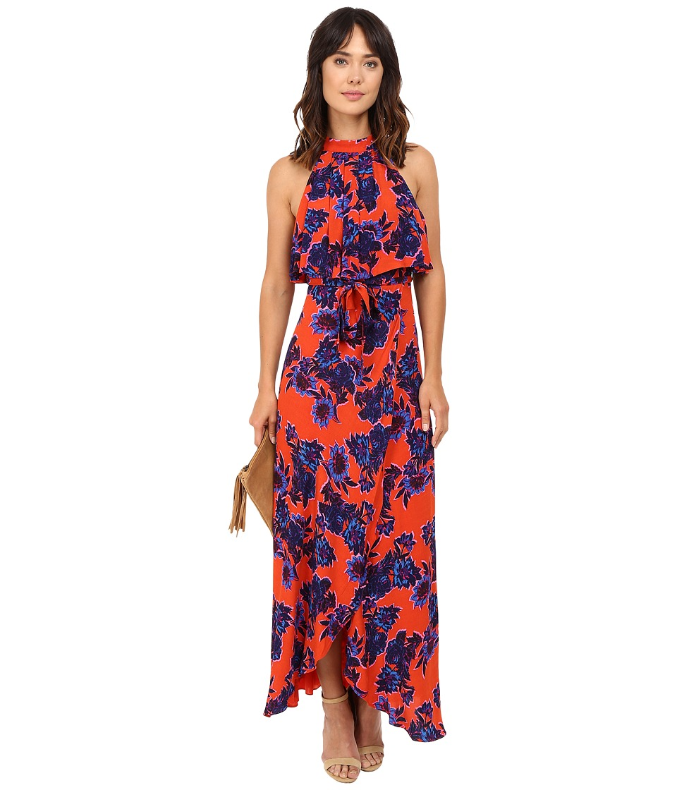 Lovers + Friends - Golden Ray Maxi (Passion Floral) Women's Dress