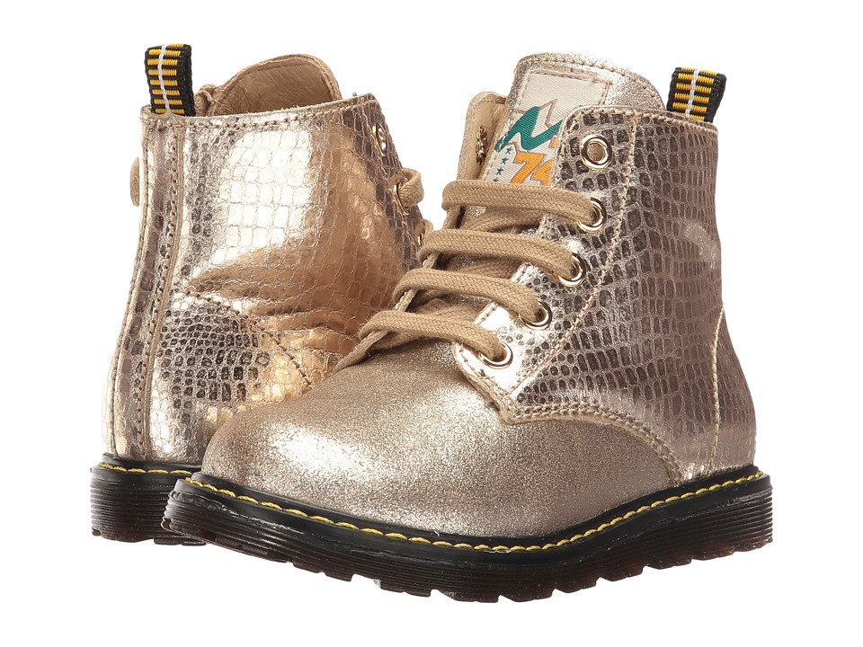Naturino - Nat. 3745 AW16 (Toddler/Little Kid) (Gold) Girls Shoes