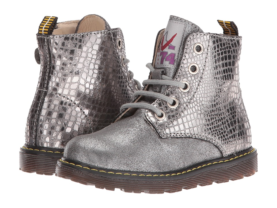 Naturino - Nat. 3745 AW16 (Toddler/Little Kid) (Silver) Girls Shoes
