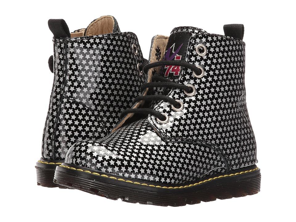 Naturino - Nat. 3745 AW16 (Toddler/Little Kid) (Black/Silver) Girls Shoes