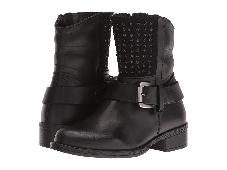 Naturino - Holly AW16 (Little Kid/Big Kid) (Black) Girls Shoes