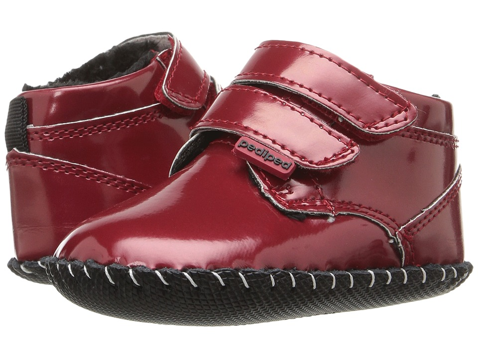 pediped - Lionel Originals (Infant) (Red Patent) Girl's Shoes