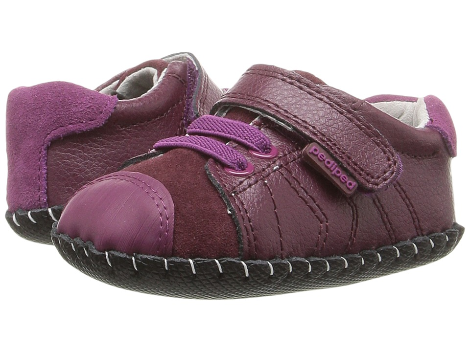 pediped - Jake Originals (Infant) (Berry) Girl's Shoes
