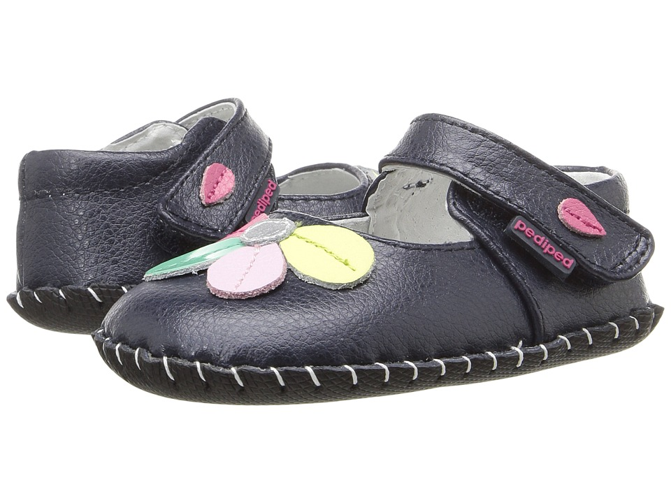 pediped - Brittany Originals (Infant) (Navy) Girl's Shoes