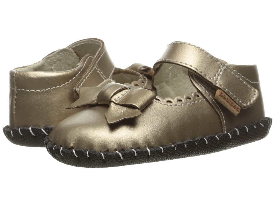 pediped - Betty Originals (Infant) (Champagne) Girl's Shoes