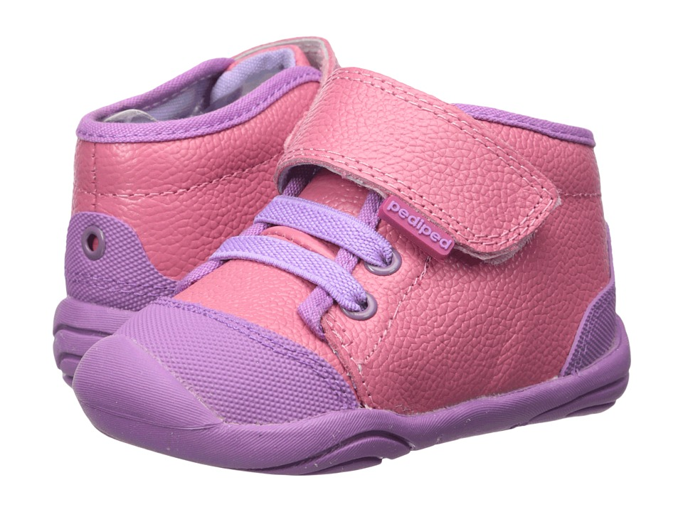 pediped - Jay Grip n Go (Toddler) (Mid Pink) Girl's Shoes