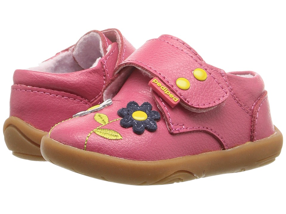 pediped - Aryanna Grip n Go (Toddler) (Fuchsia) Girl's Shoes