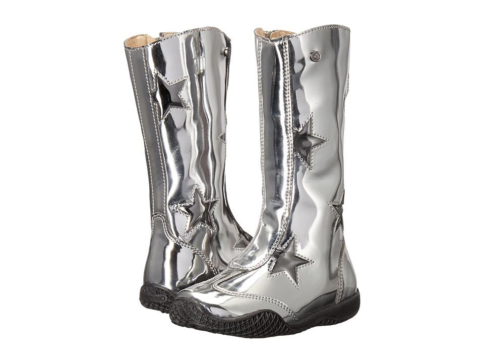 Naturino - Nat. 4147 AW16 (Toddler/Little Kid/Big Kid) (Silver) Girls Shoes