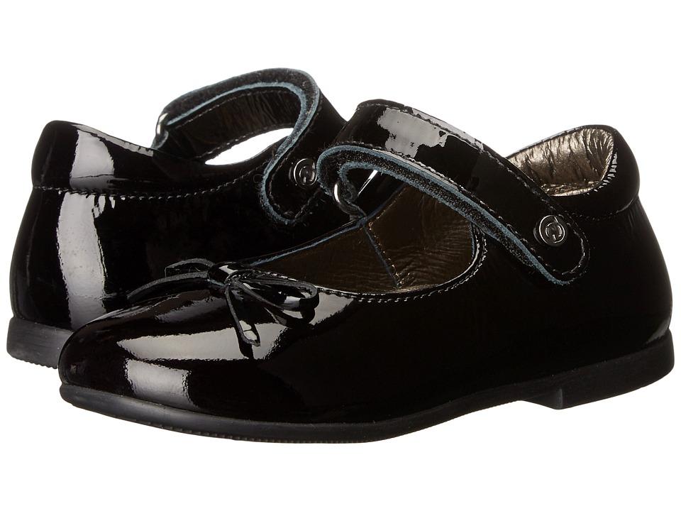 Naturino - Nat. 4524 AW16 (Toddler/Little Kid) (Black) Girls Shoes