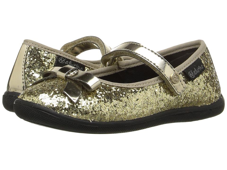 Naturino - Nat. 8076 AW16 (Toddler/Little Kid/Big Kid) (Gold) Girls Shoes