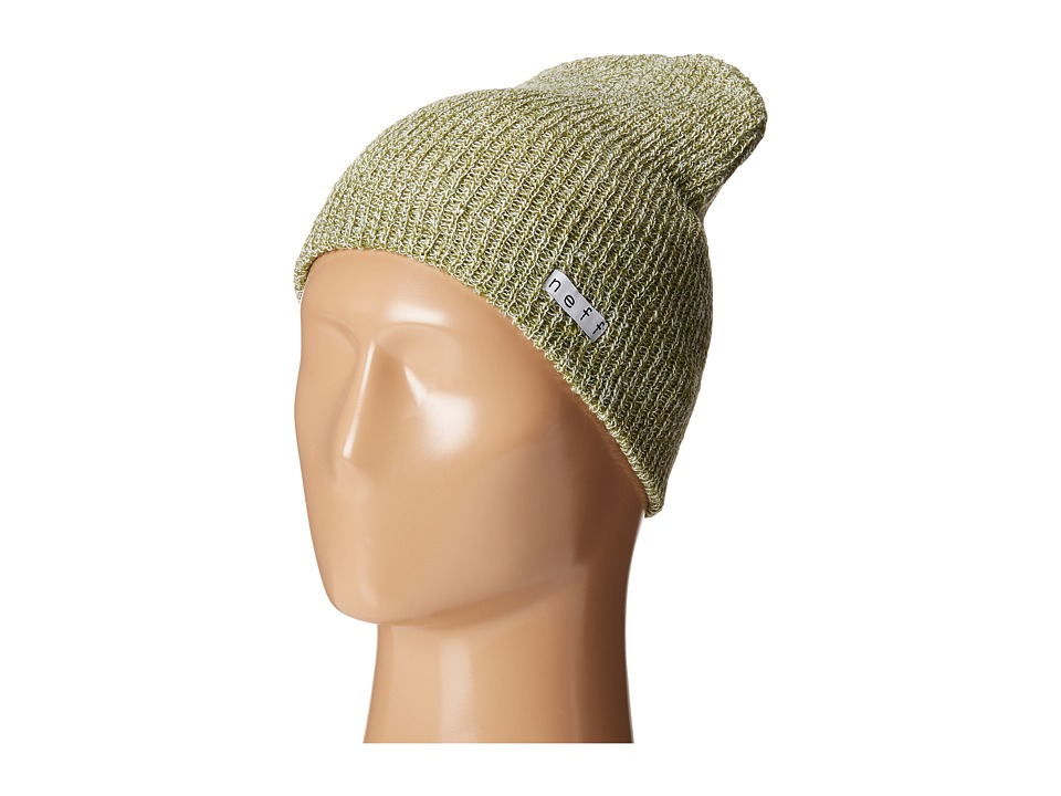 Neff - Daily Heather Beanie (Olive/White) Beanies