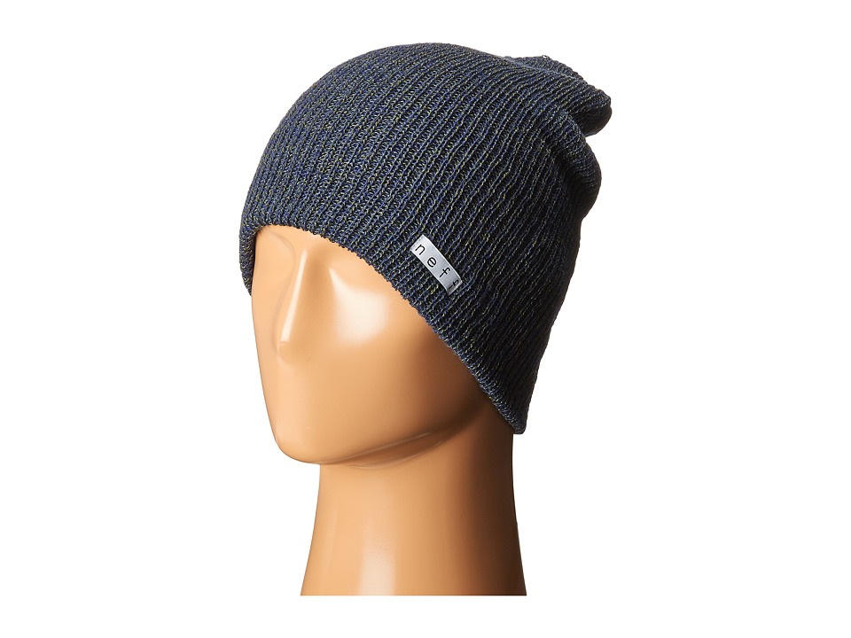 Neff - Daily Heather Beanie (Blue/Green) Beanies