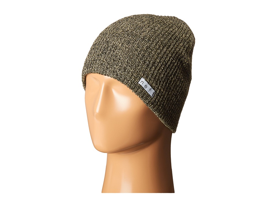 Neff - Daily Heather Beanie (Twill/Black) Beanies