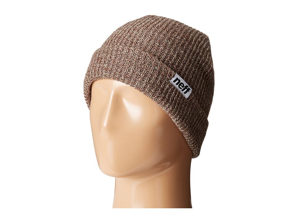 Neff - Fold Heather Beanie (Pine/Twill) Beanies
