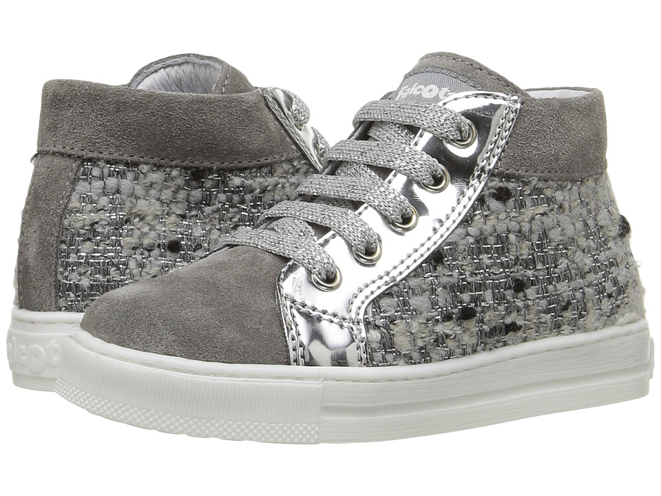 Naturino - Falcotto Candy AW16 (Toddler) (Grey) Girls Shoes