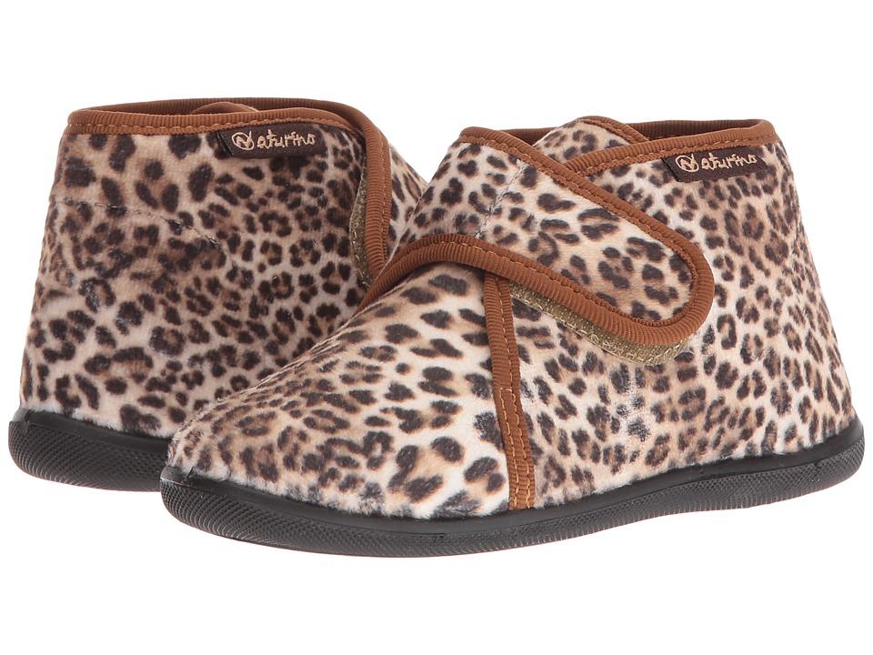 Naturino - Nat. 7452 AW16 (Toddler) (Brown) Girls Shoes