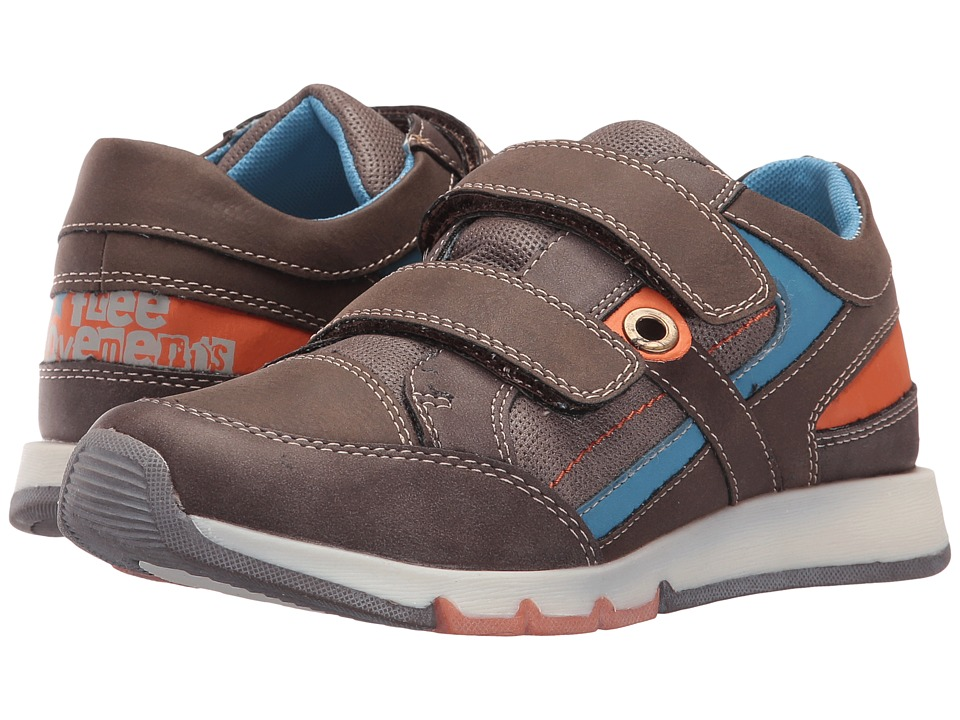 Beeko - Madrid II (Little Kid/Big Kid) (Brown) Boy's Shoes