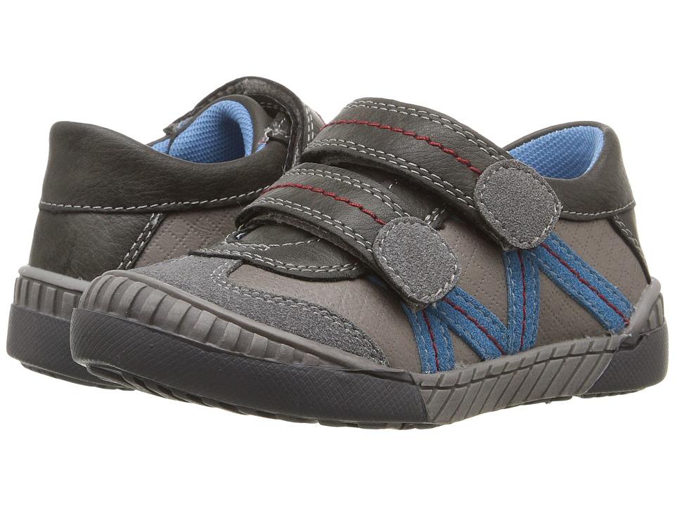 Beeko - Acton II (Toddler) (Grey) Boy's Shoes