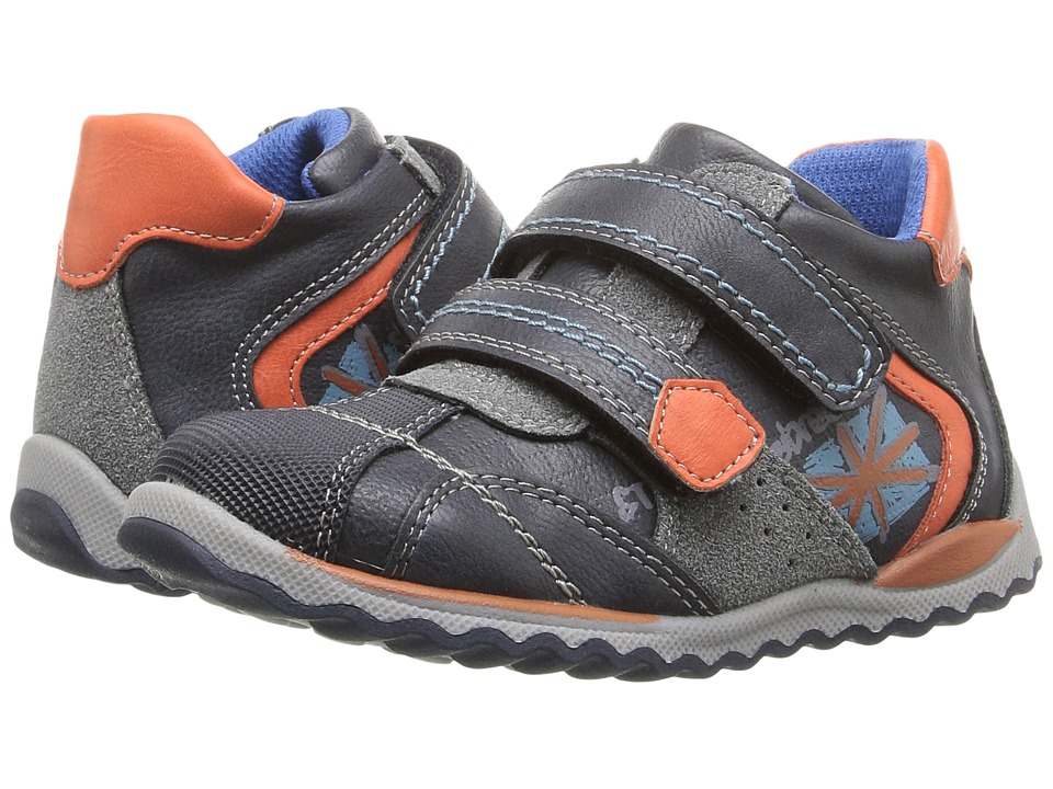 Beeko - Hal II (Toddler) (Navy) Boy's Shoes