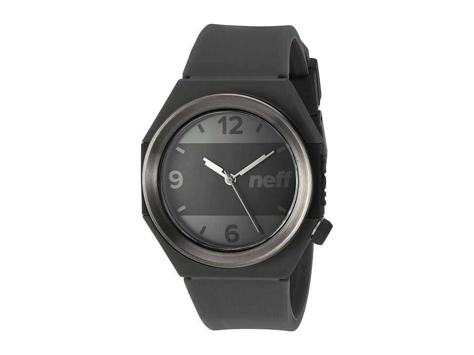 Neff - Stripe Watch (Gunmetal/Black) Watches