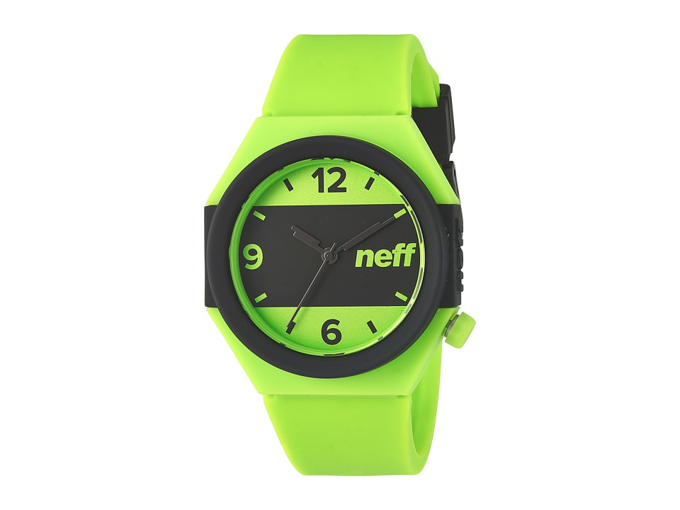Neff - Stripe Watch (Lime/Black) Watches