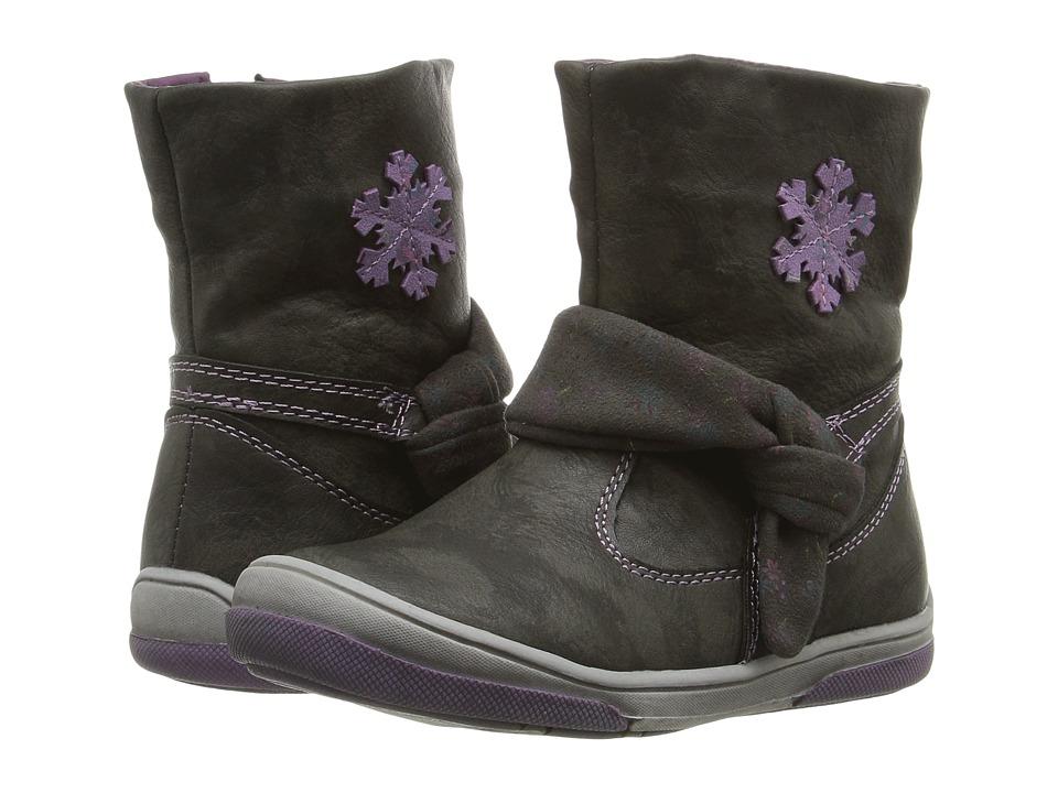 Beeko - Jael II (Toddler) (Black) Girl's Shoes