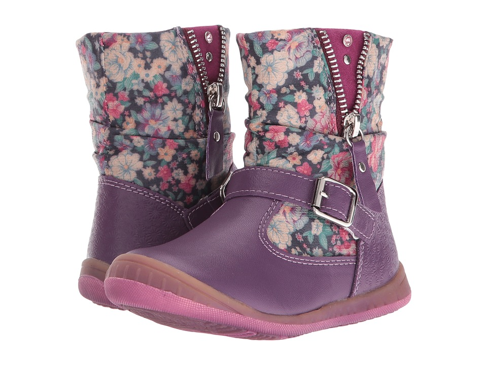 Beeko - Dallas II (Toddler) (Purple) Girl's Shoes