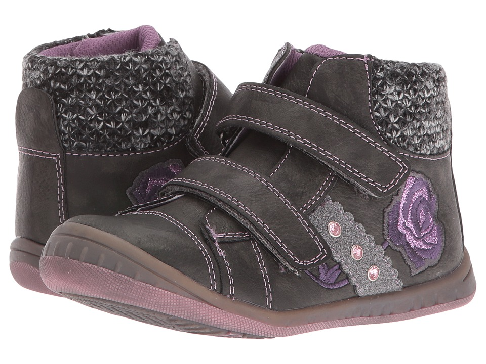 Beeko - Dally II (Toddler) (Black) Girl's Shoes