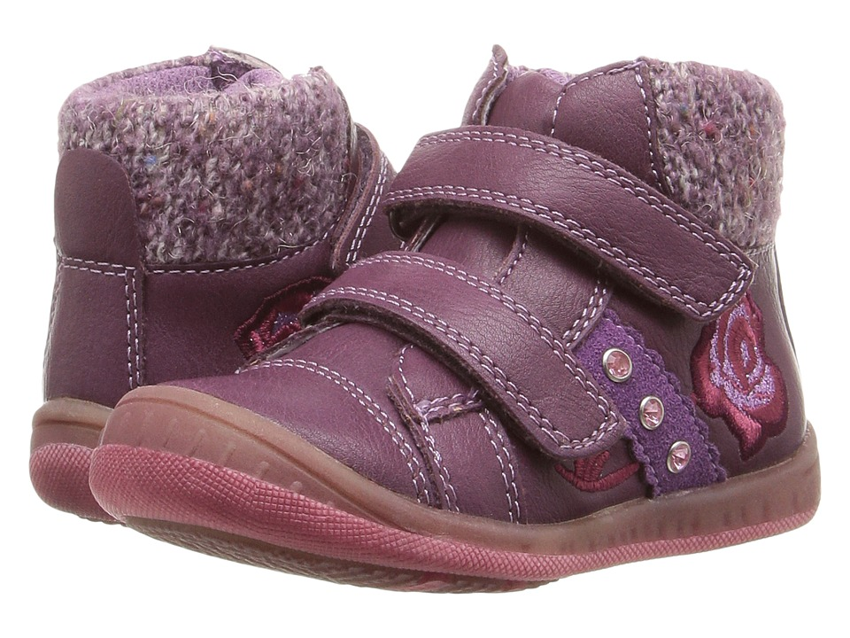 Beeko - Dally II (Toddler) (Purple) Girl's Shoes
