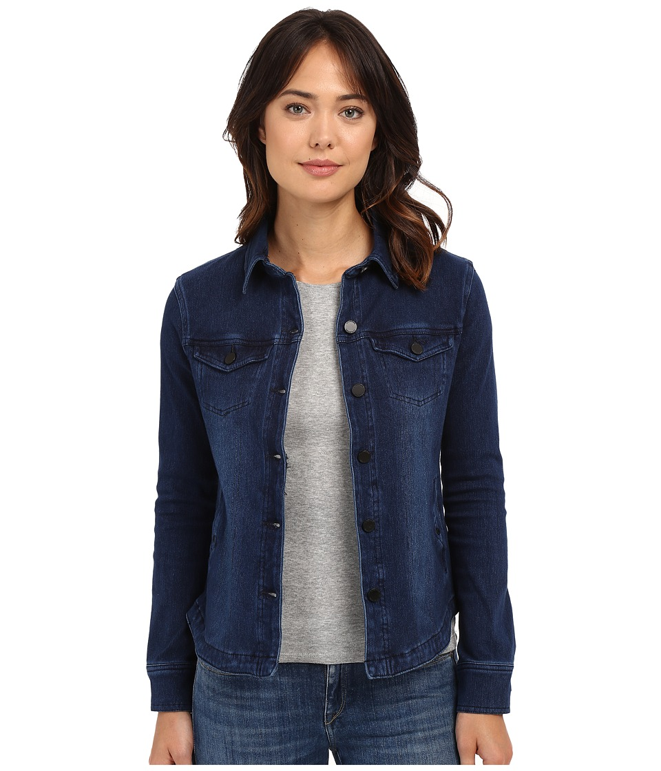 Liverpool - Denim Shirt Jacket (Dark Americana) Women's Coat