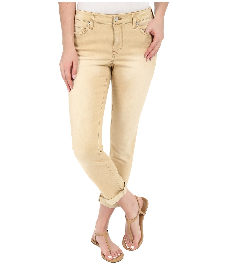 Liverpool - Cami Crop Denim Jeans in Light Khaki (Light Khaki) Women's Jeans