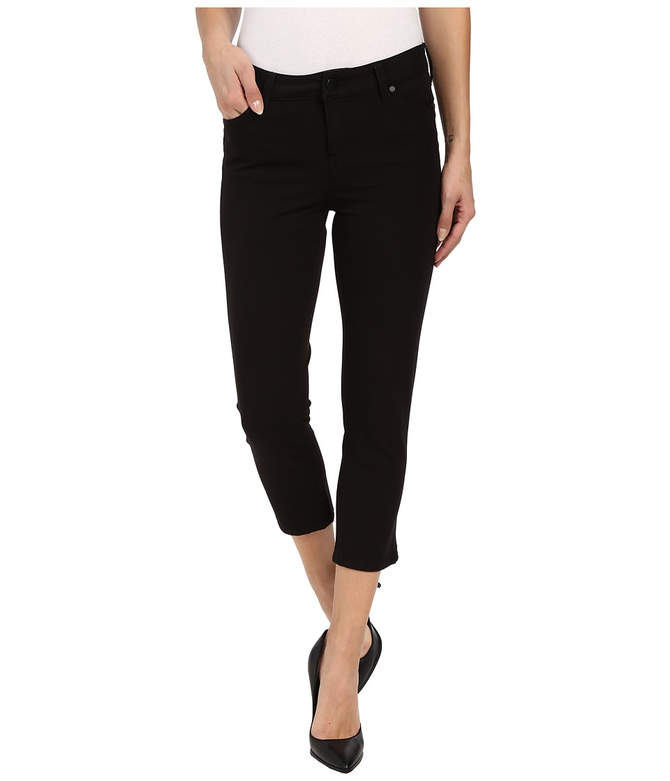 Liverpool - Milly Hugger Contour 4-Way Stretch Capri Jeans in Black (Black) Women's Capri