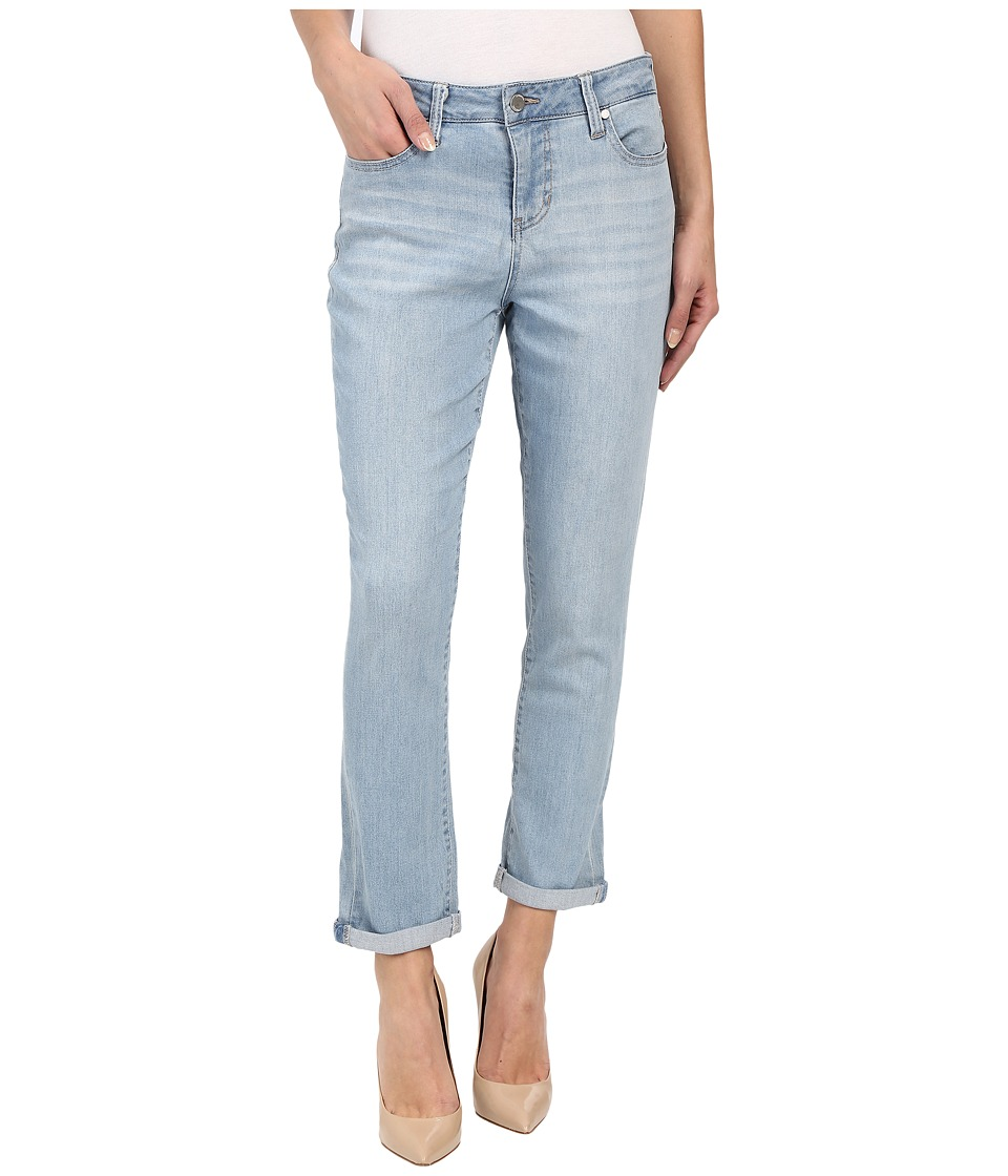 Liverpool - Anthem Curvy Cami Crop Jeans in Belmont Beach Blue (Belmont Beach Blue) Women's Jeans