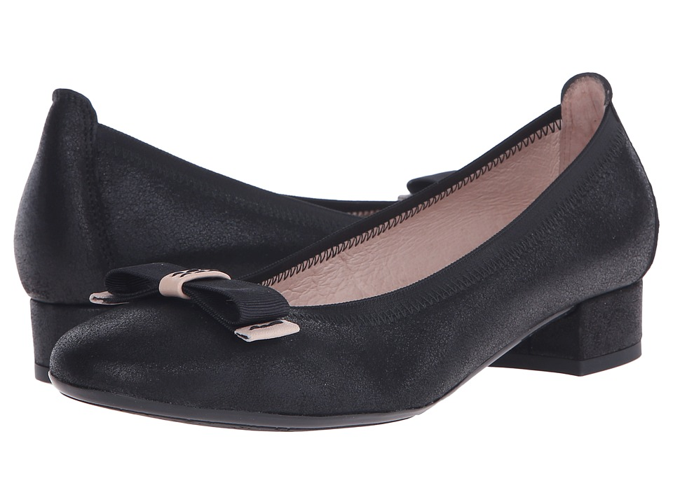 Hispanitas - Cassidy (Magic Black) Women's Flat Shoes