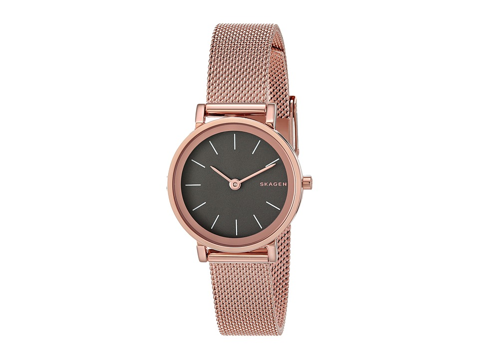 Skagen - Hald SKW2470 (Rose Gold) Watches