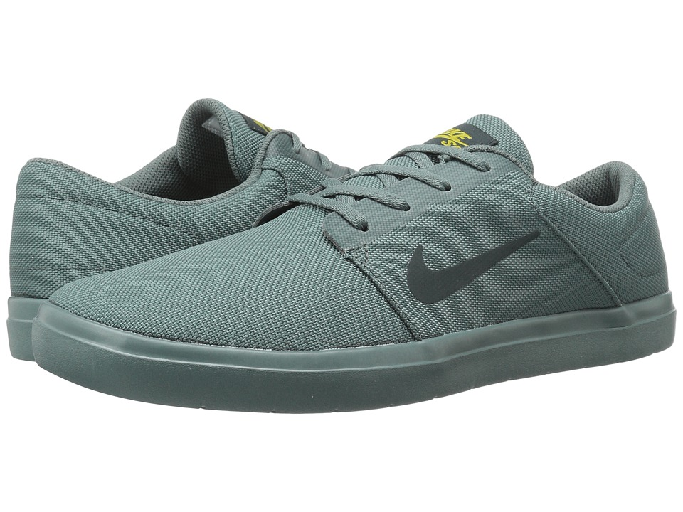 Nike SB - Portmore Ultralight Canvas (Hasta/Seaweed/Peat Moss) Men's Skate Shoes
