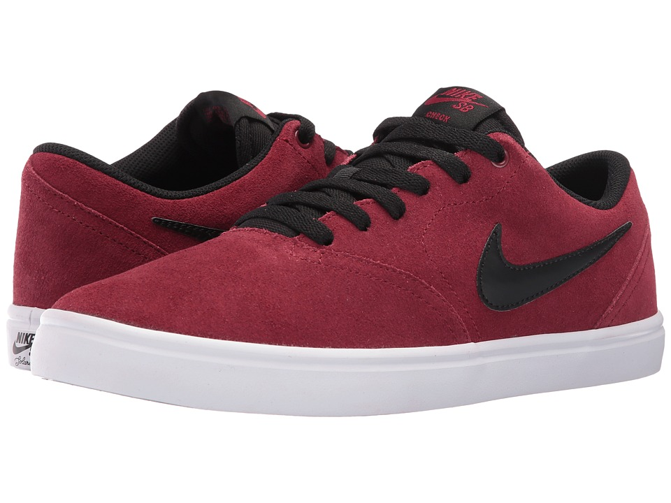 Nike SB - Check Solar (Team Red/Black) Men's Skate Shoes