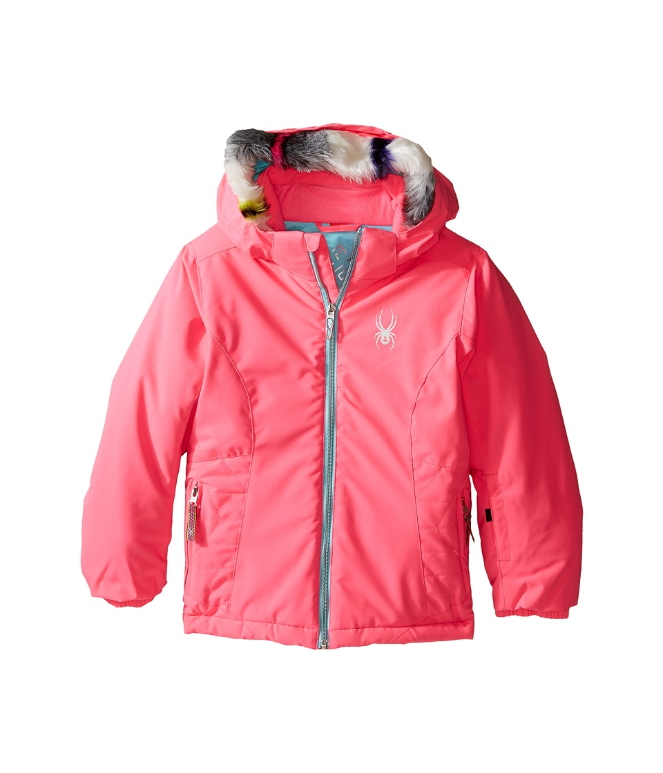 Spyder Kids - Bitsy Trixy Jacket (Toddler/Little Kids/Big Kids) (Bryte Bubblegum/Freeze) Girl's Coat