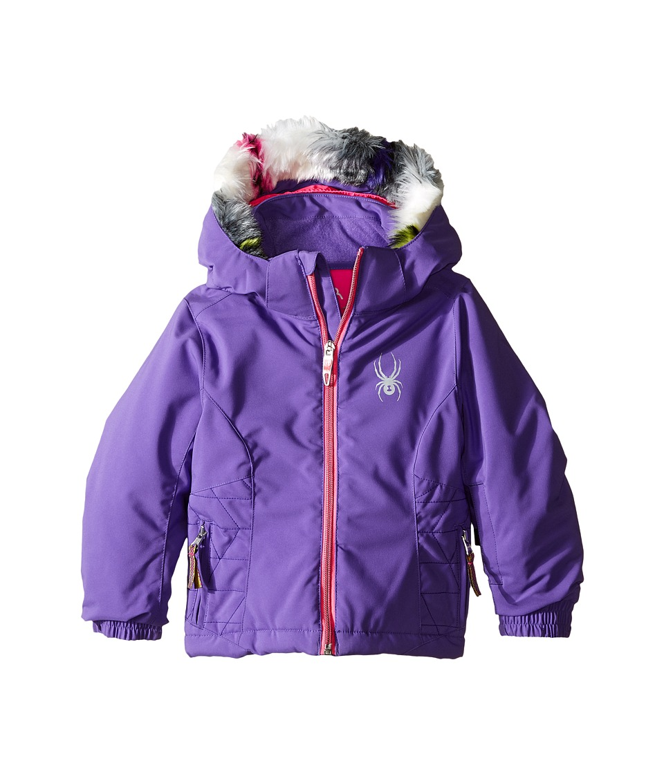 Spyder Kids - Bitsy Trixy Jacket (Toddler/Little Kids/Big Kids) (Iris/Bryte Bubblegum) Girl's Coat