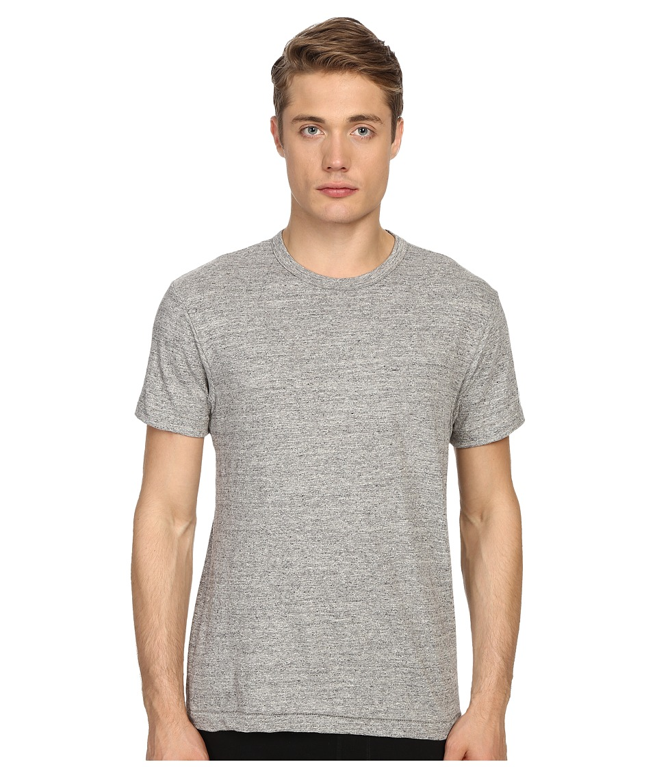 Todd Snyder + Champion - Heathered Basic Tee (Antique Grey Mix) Men's T Shirt