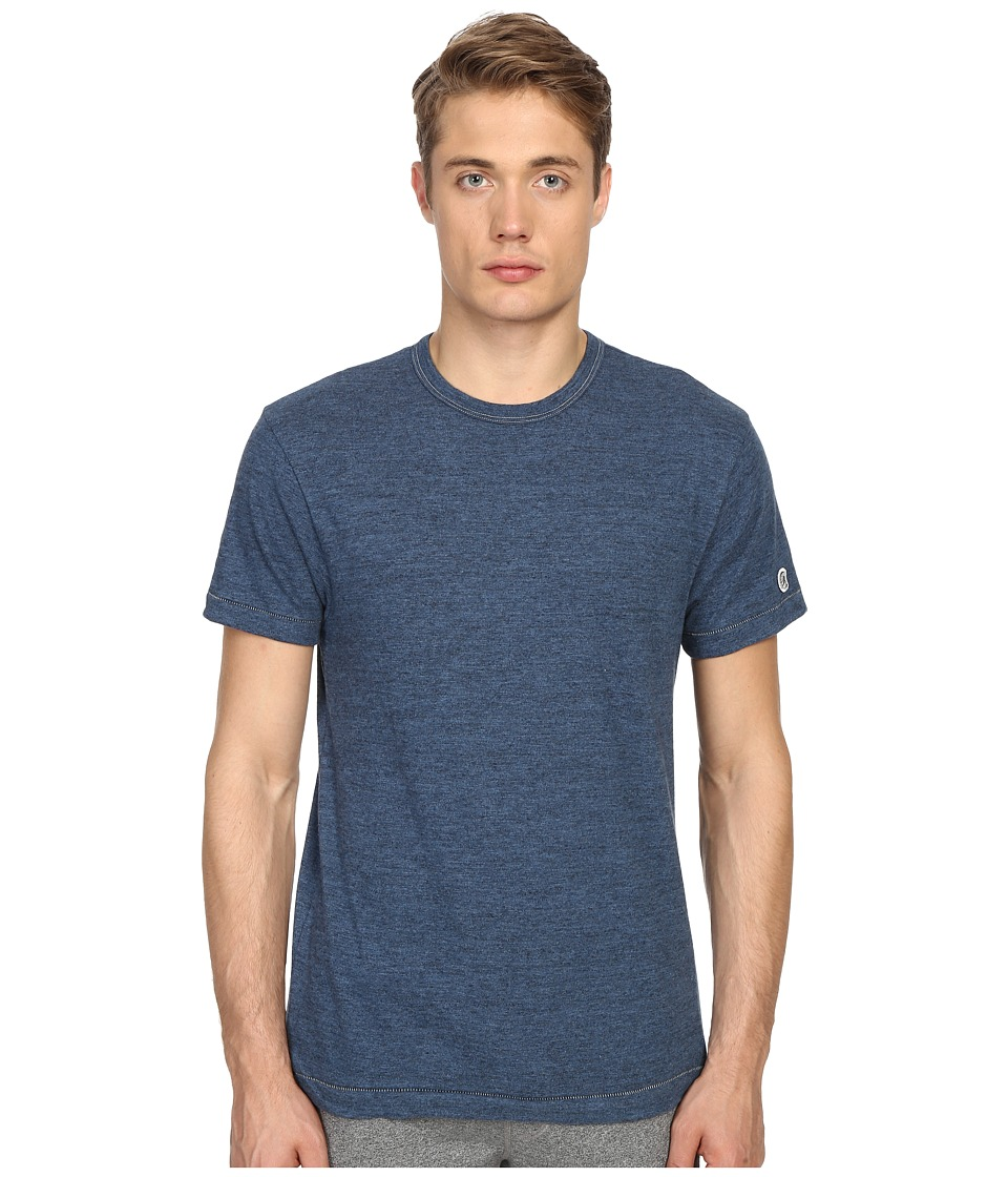 Todd Snyder + Champion - Heathered Basic Tee (Indigo Mix) Men's T Shirt