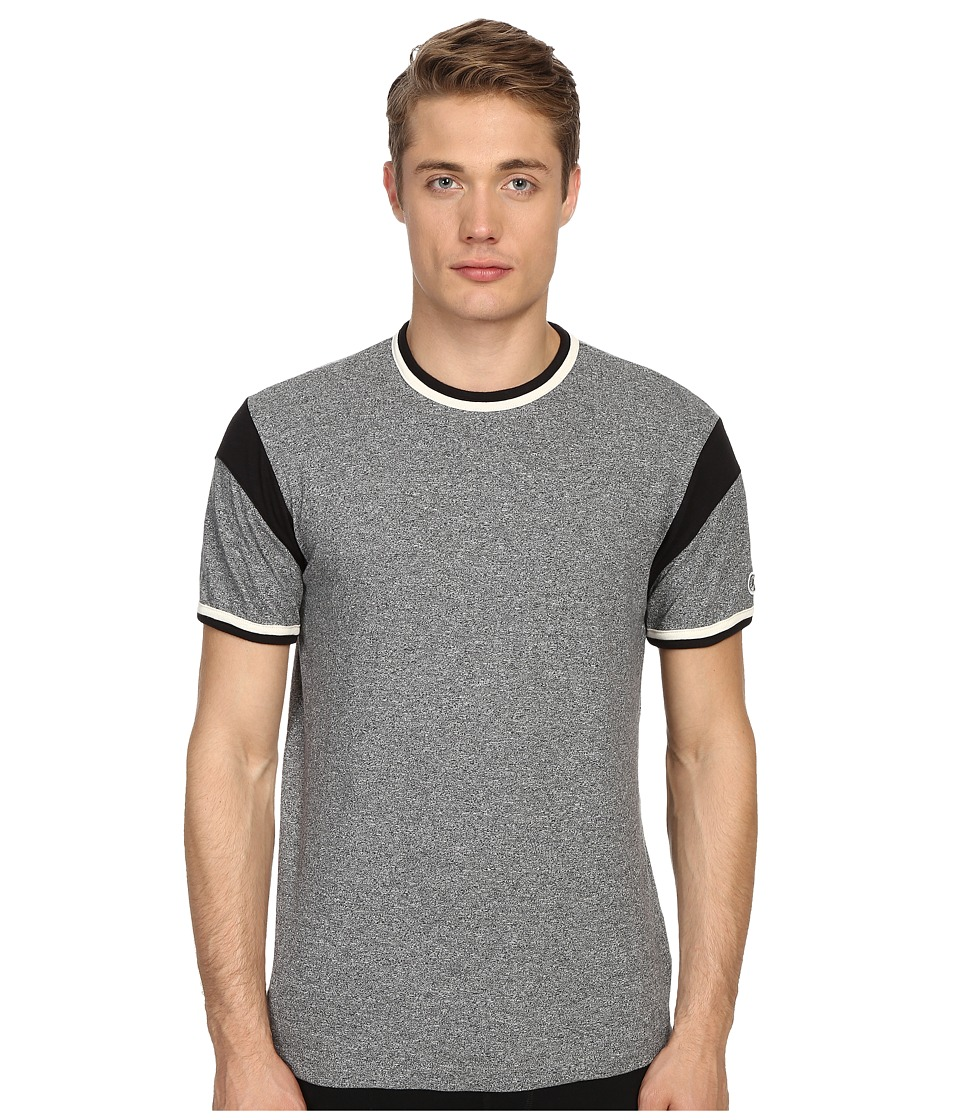 Todd Snyder + Champion - Short Sleeve Armhole Tee (Salt/Pepper) Men's T Shirt