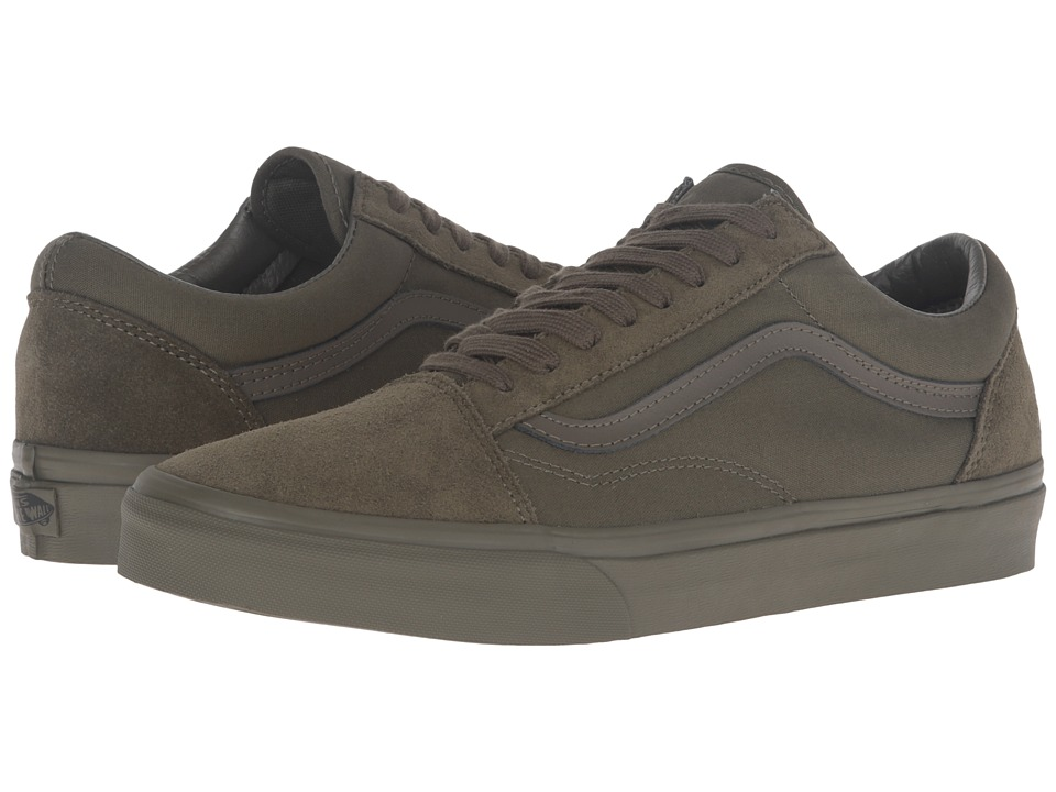 Vans - Old Skool ((Mono) Ivy Green) Skate Shoes